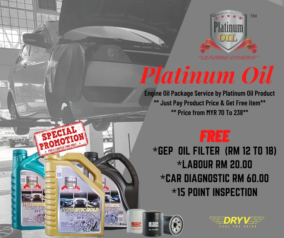 Platinum Oil Promo